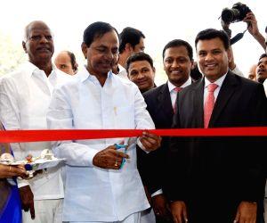 Telangana CM inaugurates a school