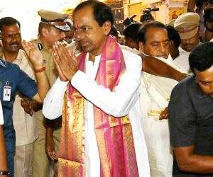 Chandrashekar Rao - Bonalu festival celebrations
