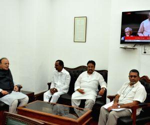 Telangana CM Chandrashekhar Rao meets Arun Jaitley