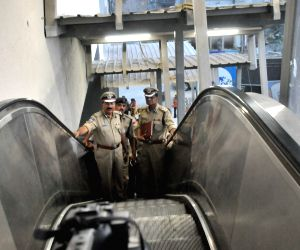 DGP M. Mahender Reddy reviews Hyderabad metro security