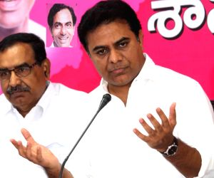 Telangana Minister Rama Rao's press conference
