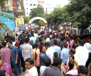 People appear for Telangana SSC examinations