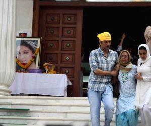 Prayer meeting for TV actor Pratyusha Banerjee