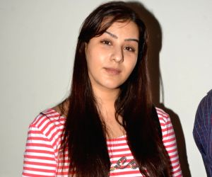 Television actress Shilpa Shinde press conference