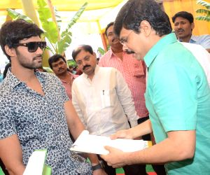 Bellamkonda Srinivas's untitled movie muhurath