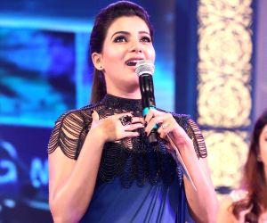 Audio release of Telugu film Rabhasa