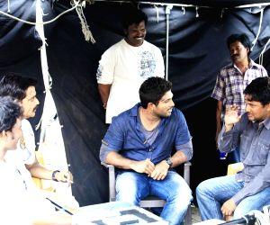 Telugu movie 'Race Gurram' stills