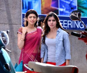 Hyderabad: Telugu new film 'Rabhasa' stills