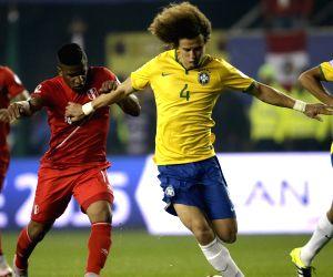 Brazil V/S Peru - Copa America 2015 Group C soccer match
