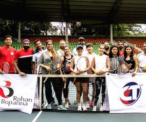 Cardio Tennis launch - Rohan Bopanna