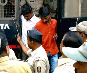Kopardi rape accused being produced before a court
