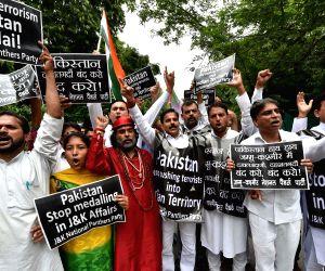 JKNPP demonstration against Pakistani government