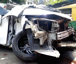 Vikram Chatterjee suffered injuries in a road accident