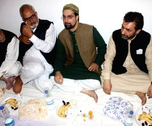(140715) Srinagar: Mirwaiz Umar Farooq during an 'Iftaar Party'
