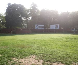 Deserted Congress headquarter after exit polls predict majority to BJP-led NDA