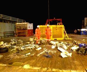 Debris of the missing Coast Guard Dornier aircraft