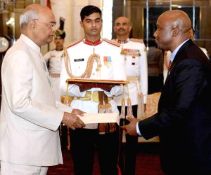 Presentation of credentials at Rashtrapati Bhavan