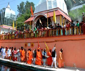 Lord Shiva's mace reaches Mattan town