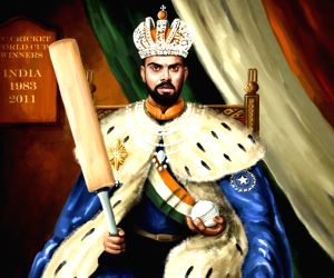 ICC posts illustration of Kohli on throne, fans unhappy
