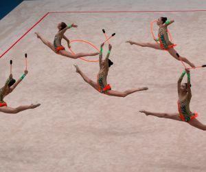 HUNGARY BUDAPEST RYTHMIC GYMNASTICS WORLD CUP