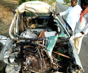 Five killed in road accident