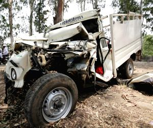 Nine people killed in road accident in Punjab