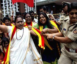 KRV demanding resignation of Y Bhaskar Rao