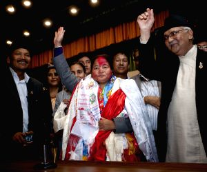NEPAL KATHMANDU PARLIAMENT NEW SPEAKER