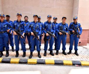 Newly inducted women SWAT commandoes