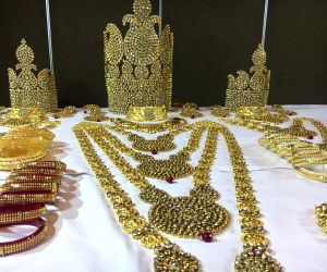 Launch of a new collection of jewelry ahead of Durga Puja