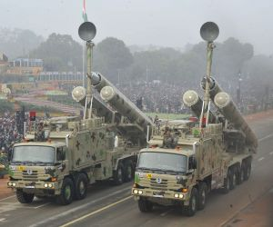Republic Day Parade 2018 - Brahmos Missile System