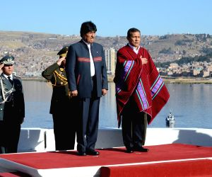 PERU PUNO BOLIVIA PRESIDENT MEETING