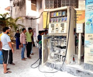Fire breaks out at petrol pump, controlled