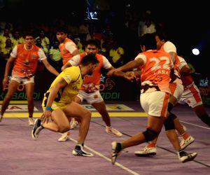 Pro Kabaddi - Telugu Titans vs Puneri Paltan