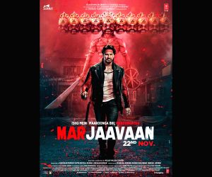 Sidharth, Riteish new 'Marjaavaan' posters out