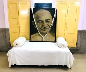 Mahatma Gandhi's way of life still followed at this temple