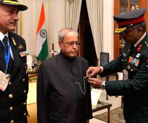 Armed Forces Flag Day - President Mukherjee