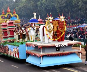Republic day 2018 - Kerala tableau during rehearsal