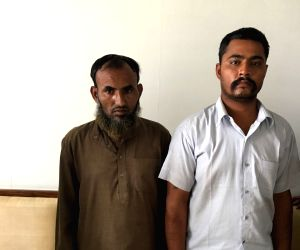 The two Indians, identified as Maulana Ramzan and Subhash Jangir, both residents of Rajasthan, who have been arrested for working with the Inter-Services Intelligence (ISI).