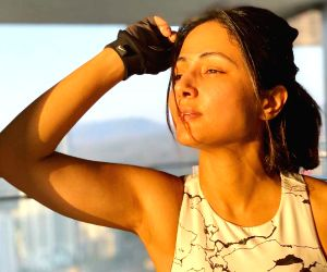 Workout in style: Wearing stylish outfits matters to Hina Khan when she sweats it out