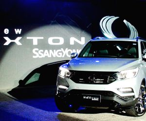 SsangYong promotes flagship G4 Rexton in Chile