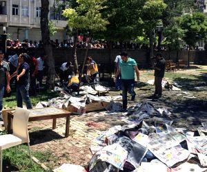 TURKEY SURUC DISTRICT BLAST