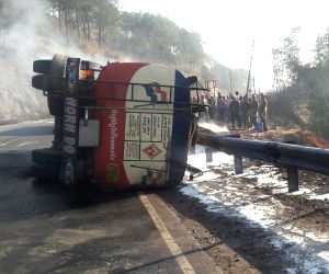 3 killed in Meghalaya oil tanker blast