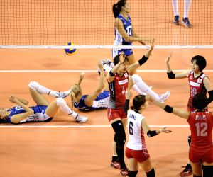 Russia v/s Japan during FIVB Women's Volleyball World Grand Prix