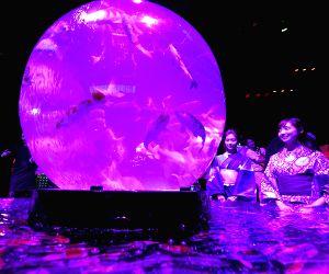JAPAN TOKYO ART AQUARIUM EXHIBITION