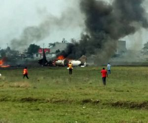 MEXICO TOLUCA PLANE CRASH
