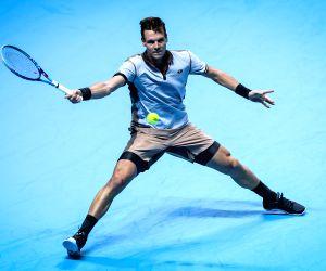 UK LONDON TENNIS ATP FINAL NISHIKORI VS BERDYCH