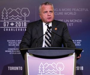 CANADA TORONTO G7 FM MEETING CLOSE