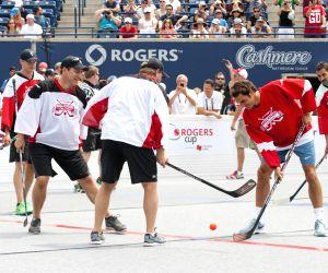 Roger Federer during Rogers Cup 2014
