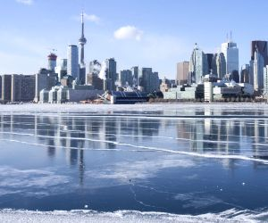 CANADA-TORONTO-EXTREME COLD WEATHER
